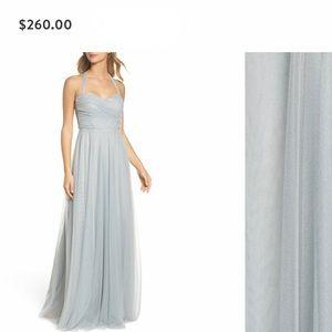 Peach Jenny Yoo bridesmaids or formal dress.